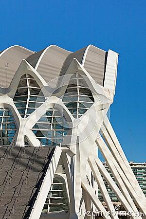 Valencia City of Arts and Sciences Editorial Image