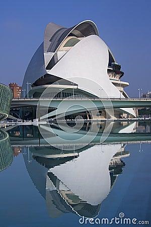 Valencia - City of Arts & Sciences - Spain Editorial Image