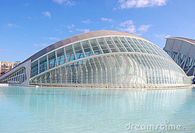 Valencia city, spain Editorial Photo