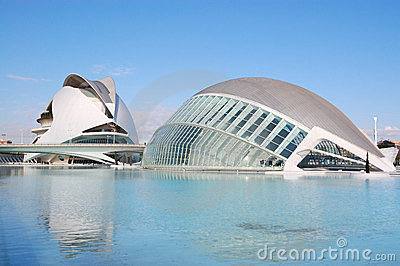 Valencia city, spain Editorial Stock Image