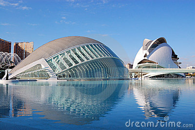 Valencia city, spain Editorial Image