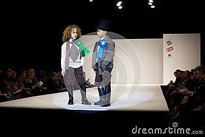 Valencia Fashion Show Editorial Image