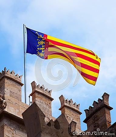 Valencia flag