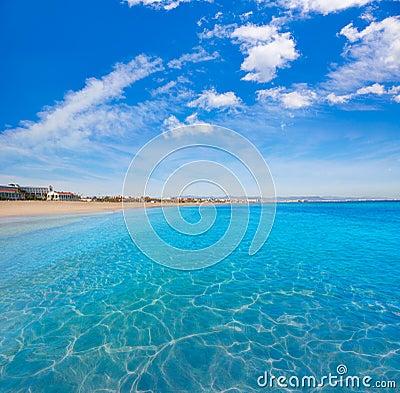 Free Valencia Malvarrosa Beach Las Arenas Spain Stock Images - 67685944