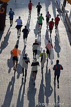 Valencia Marathon Editorial Image
