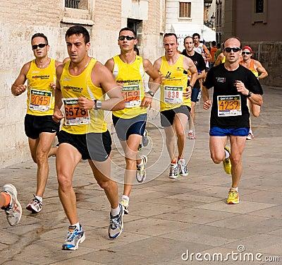 Valencia Run Editorial Photo