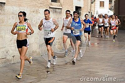 Valencia Run Editorial Photography