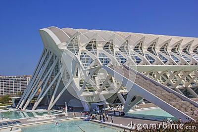 Valencia shapes Editorial Photography