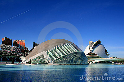 Valencia, Spain - Modern Architecture And Design Stock Photography