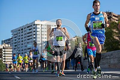 Valencias Marathon Editorial Photo