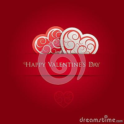 Valentin för kortdag s