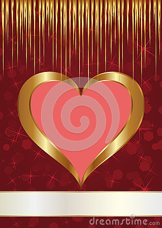 Valentinbakgrund
