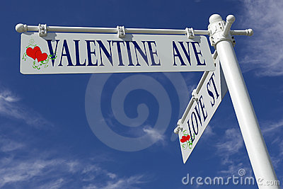 Valentine ave and love st