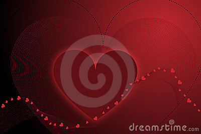 Valentine background - vector