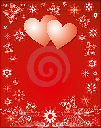 Free Valentine Background, Vector Stock Image - 398171