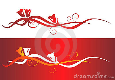Valentine Backgrounds elements