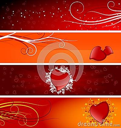 Free Valentine Banners Stock Photos - 3783433