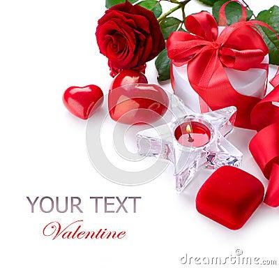Free Valentine Border Design Royalty Free Stock Photo - 22586805