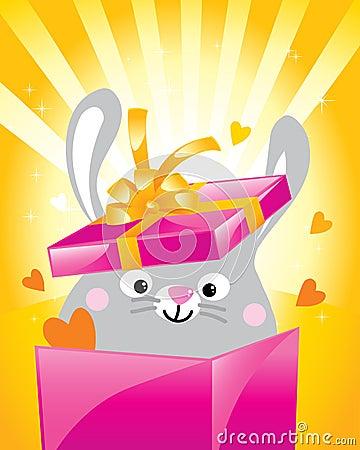 Valentine bunny