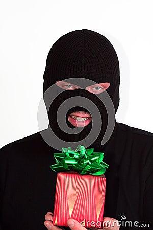 Valentine burglar