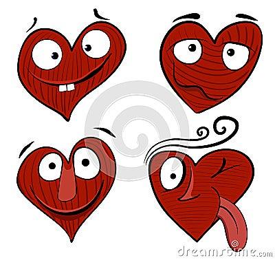 Valentine cartoon boy