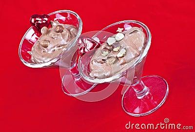 Valentine Chocolate Mousse