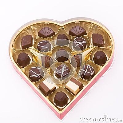 Free Valentine Chocolates Stock Image - 12442181