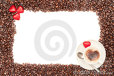 Valentine Coffee Border