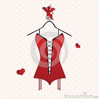 Valentine corset