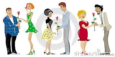 Valentine couples