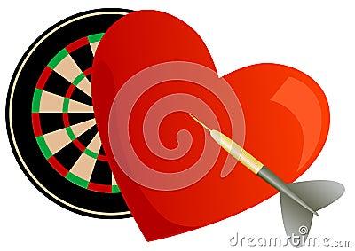 Valentine darts
