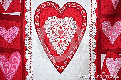 Valentine day banner.