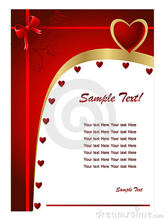 Free Valentine Day Card2 Royalty Free Stock Images - 7989709