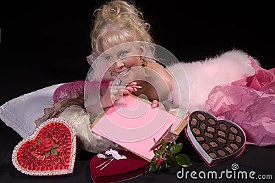 Valentine Day Girl