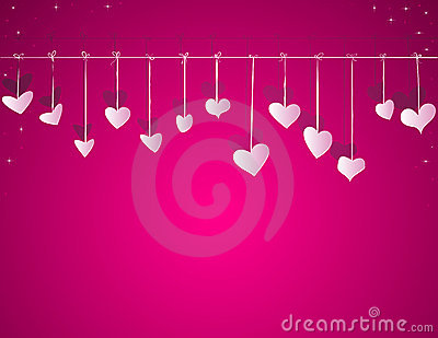Valentine day vector background