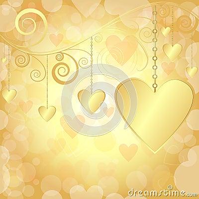 Valentine elegant background