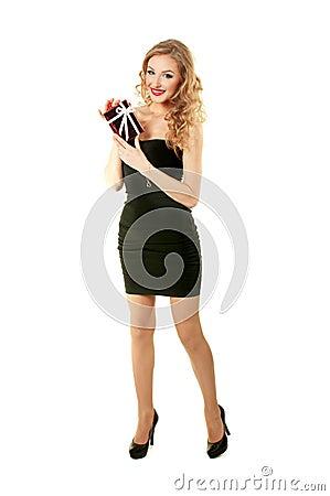 Valentine elegant girl