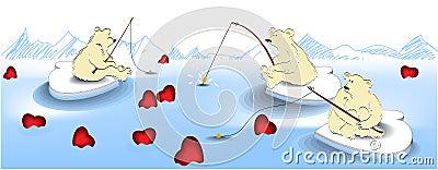 Valentine fishing