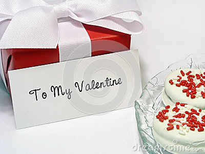 Valentine Gift with Tag