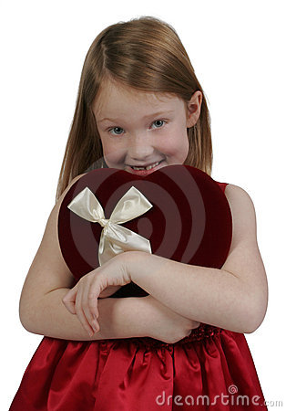 Free Valentine Girl Stock Photo - 4140530