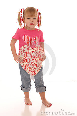 Free Valentine Girl3 Stock Photos - 499733