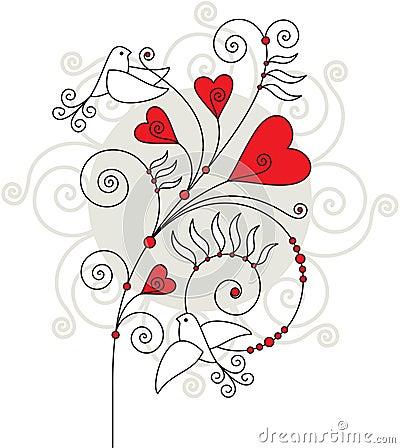 Free Valentine Greeting Card 04 Royalty Free Stock Image - 23075936