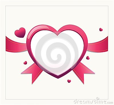 Free Valentine Heart Card Design Royalty Free Stock Images - 36378589