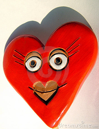 Valentine heart, smile