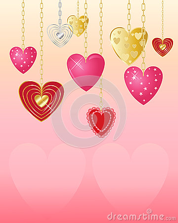 Free Valentine Hearts Royalty Free Stock Photography - 27535937