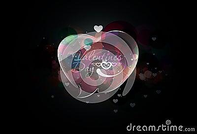 Valentine hearts design