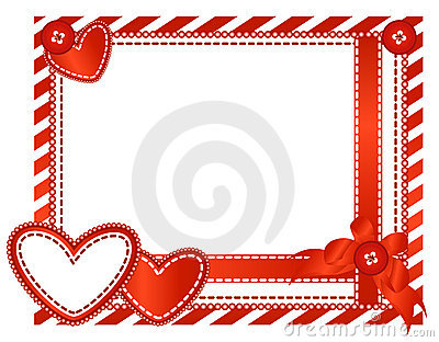 Valentine horizontal card
