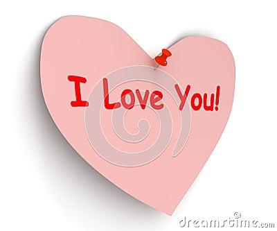 Valentine. �I love you�