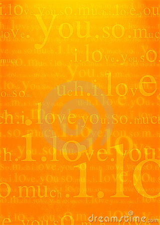 Valentine I Love You Background Stock Photography - Image: 1667802