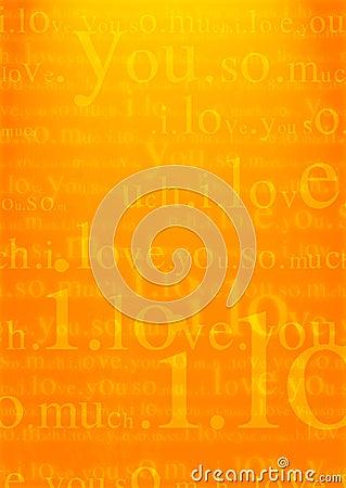 Free Valentine I Love You Background Stock Photography - 1667802